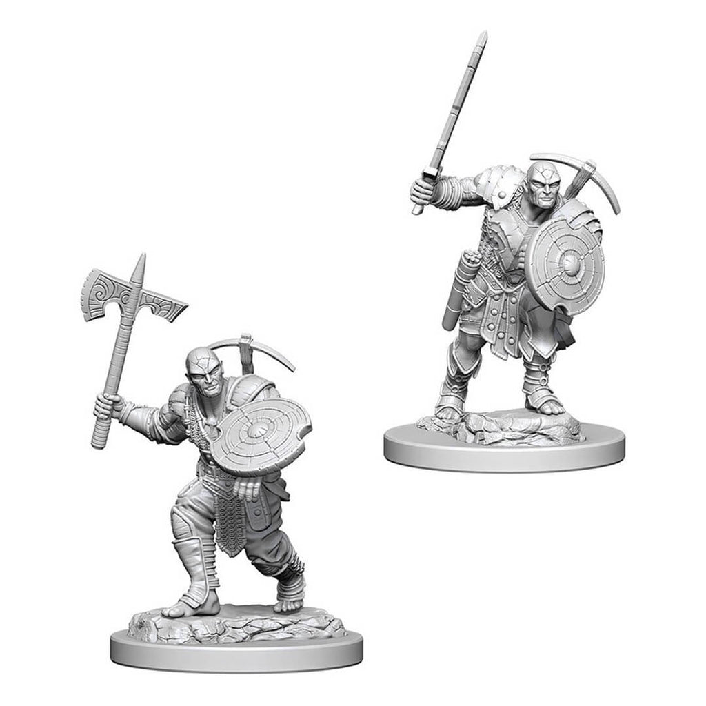 Nolzur's Marvelous Unpainted Minis - Earth Genasi Male Fighter