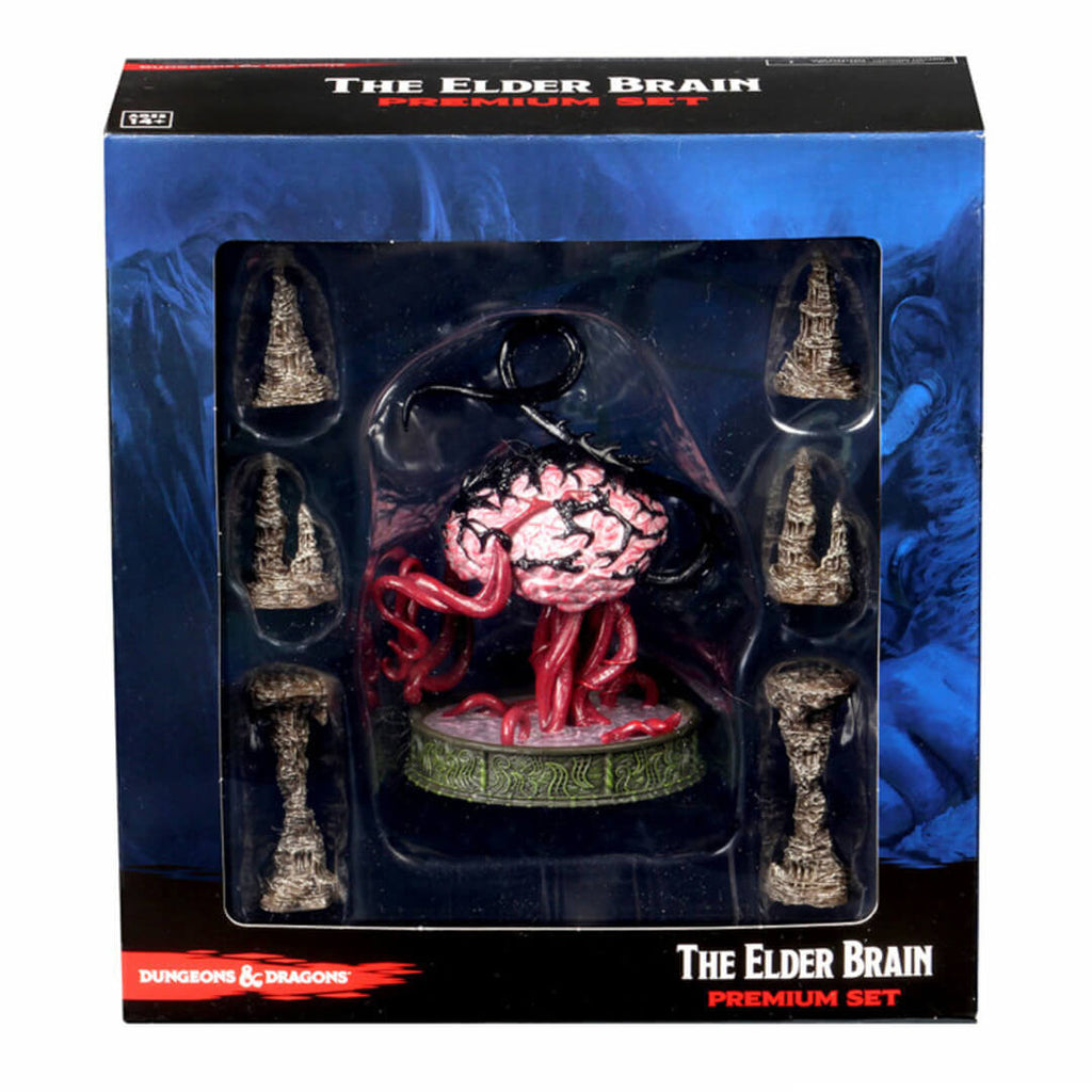 D&D Premium Minis - Elder Brain & Stalagmites - Imaginary Adventures