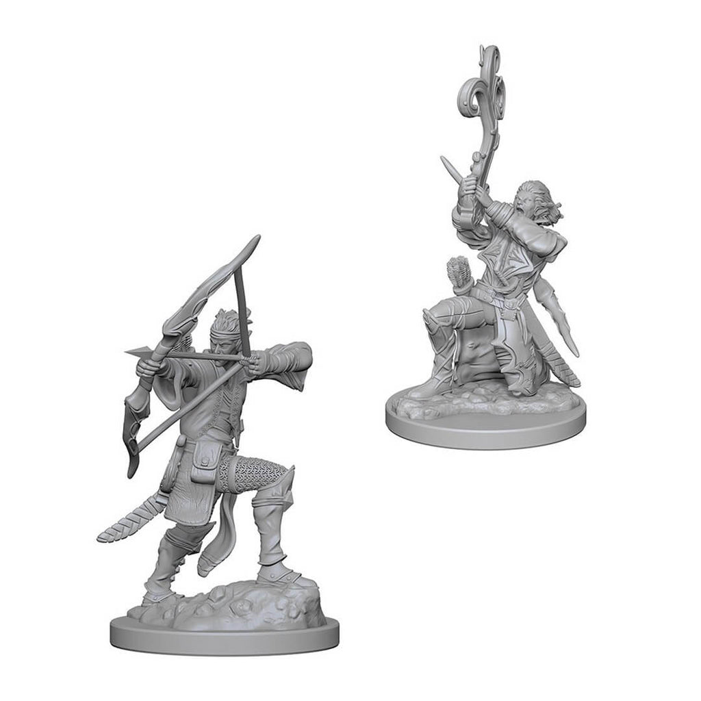 Nolzur's Marvelous Unpainted Minis - Elf Male Bard - Imaginary Adventures
