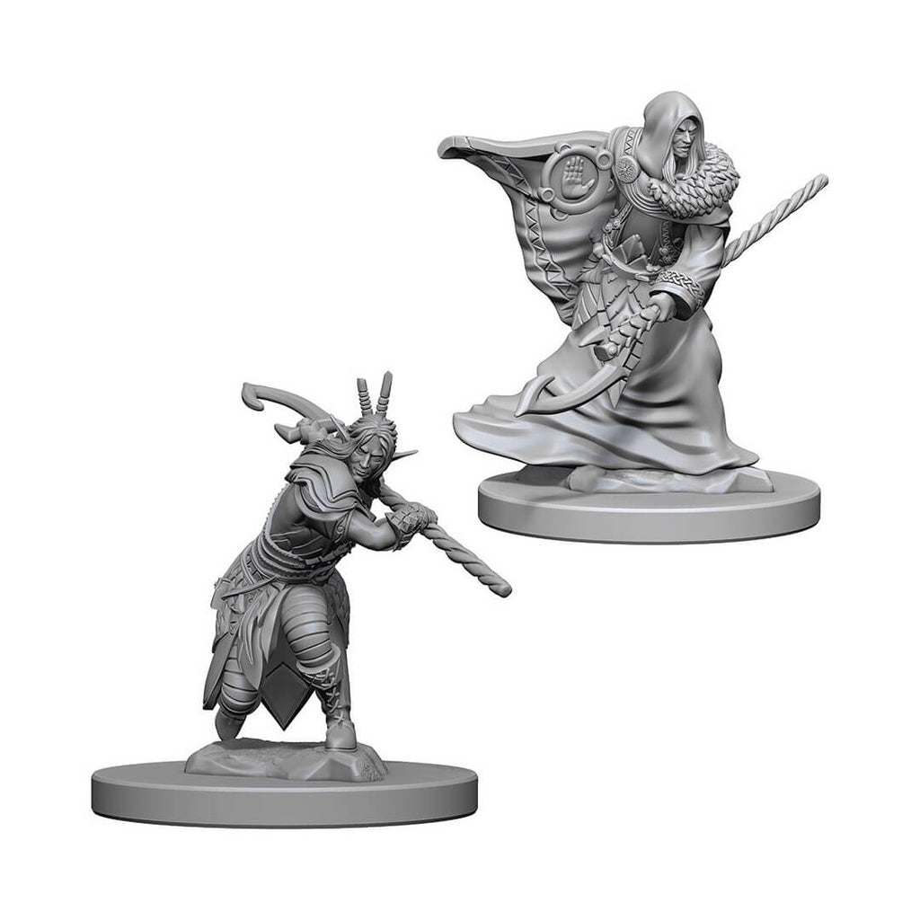 Nolzur's Marvelous Unpainted Minis - Elf Male Druid - Imaginary Adventures