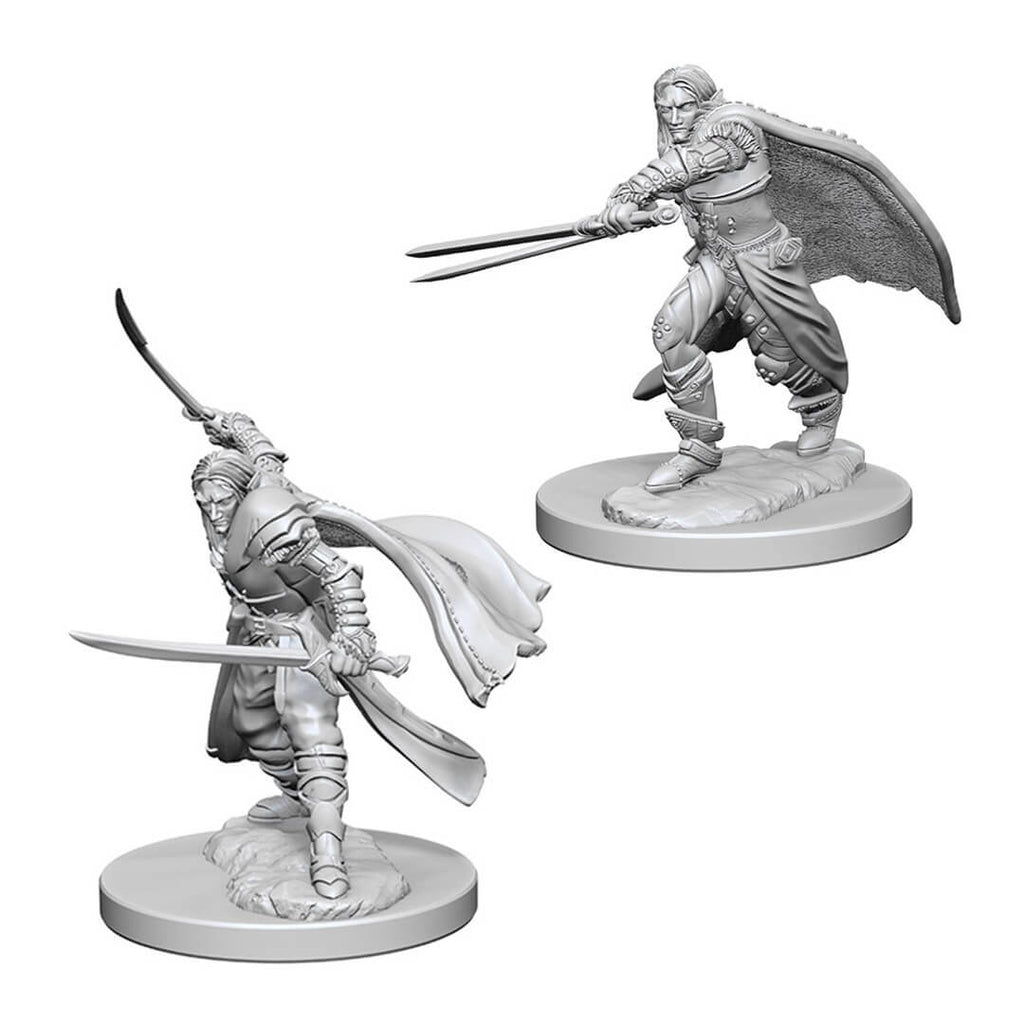 Nolzur's Marvelous Unpainted Minis - Elf Male Ranger - Imaginary Adventures