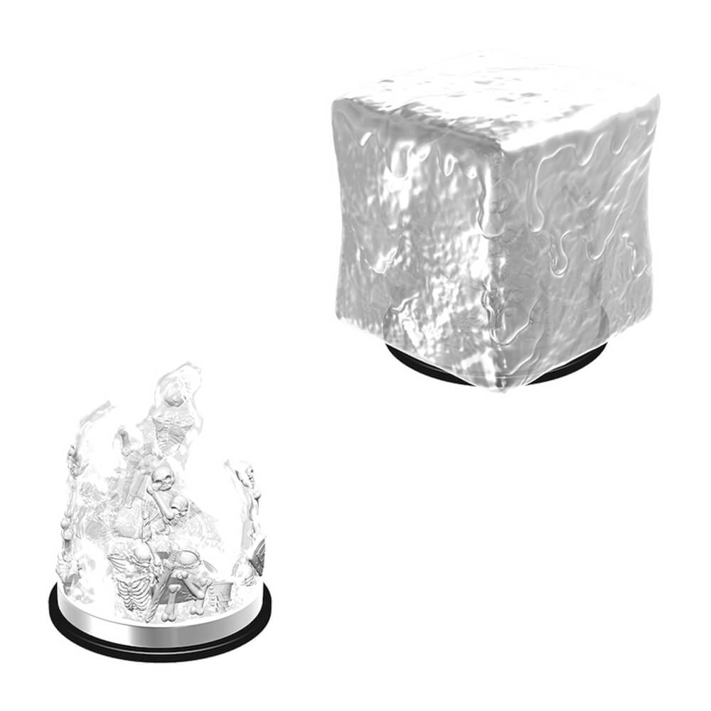 Nolzur's Marvelous Unpainted Minis - Gelatinous Cube - Imaginary Adventures