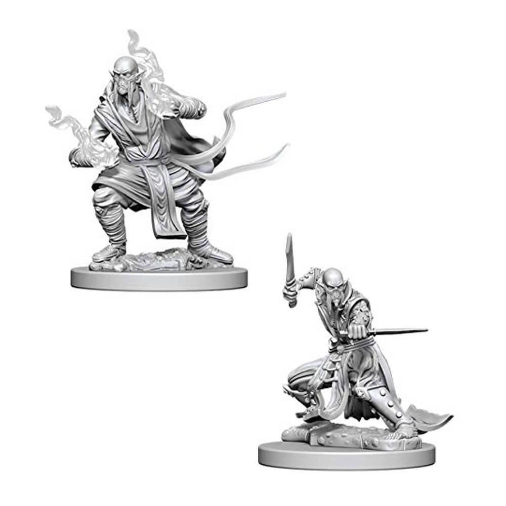 D&D Minis - Githzerai - Imaginary Adventures