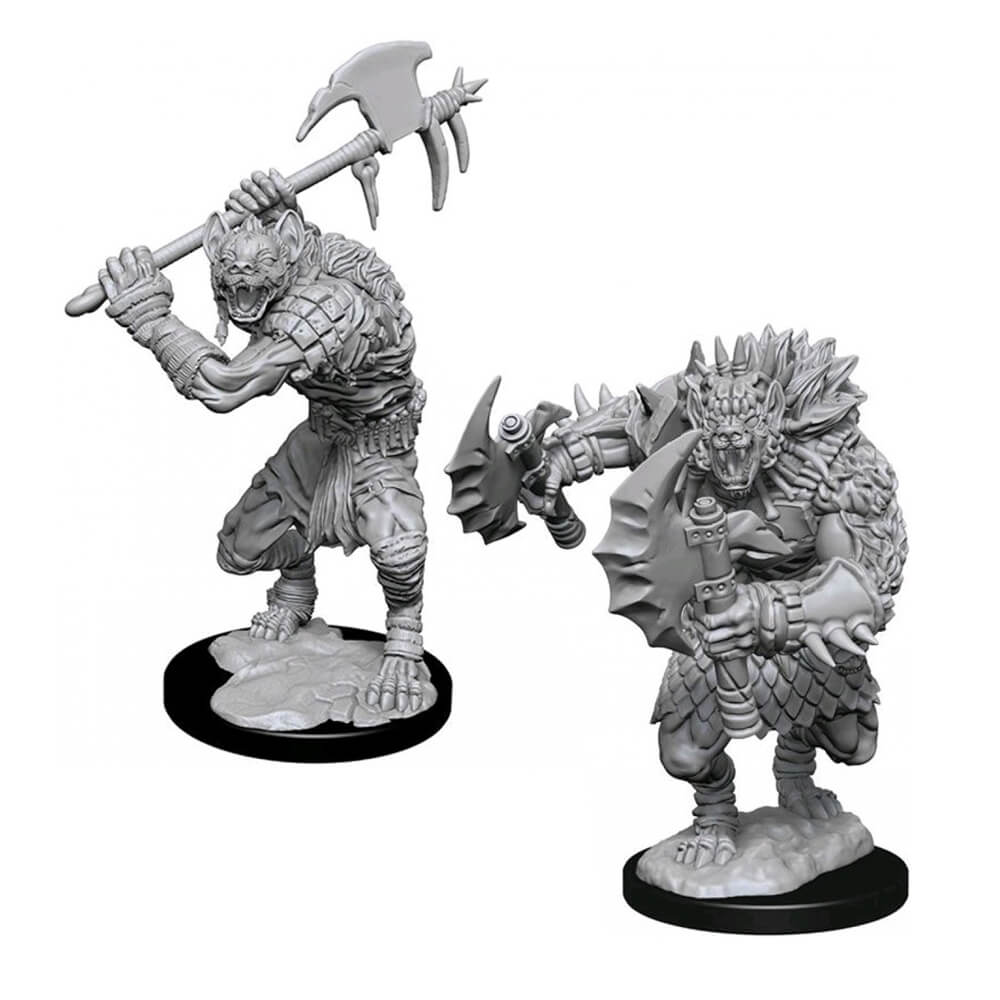 D&D Minis - Gnolls - Imaginary Adventures