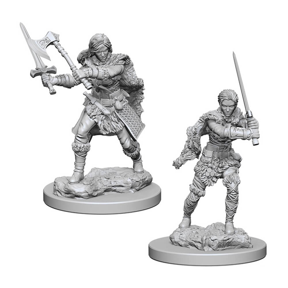 Nolzur's Marvelous Unpainted Minis - Human Female Barbarian