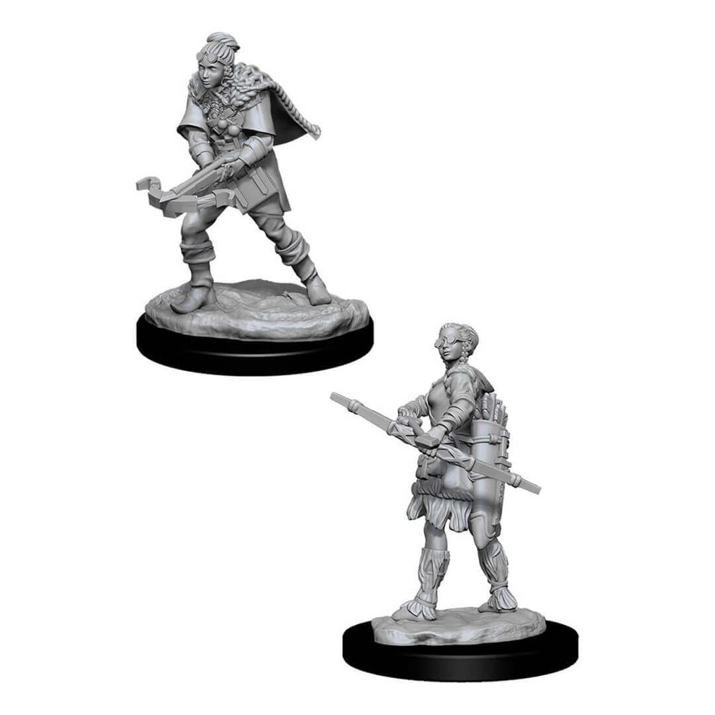 D&D Minis - Female Human Ranger with Goggles - Imaginary Adventures
