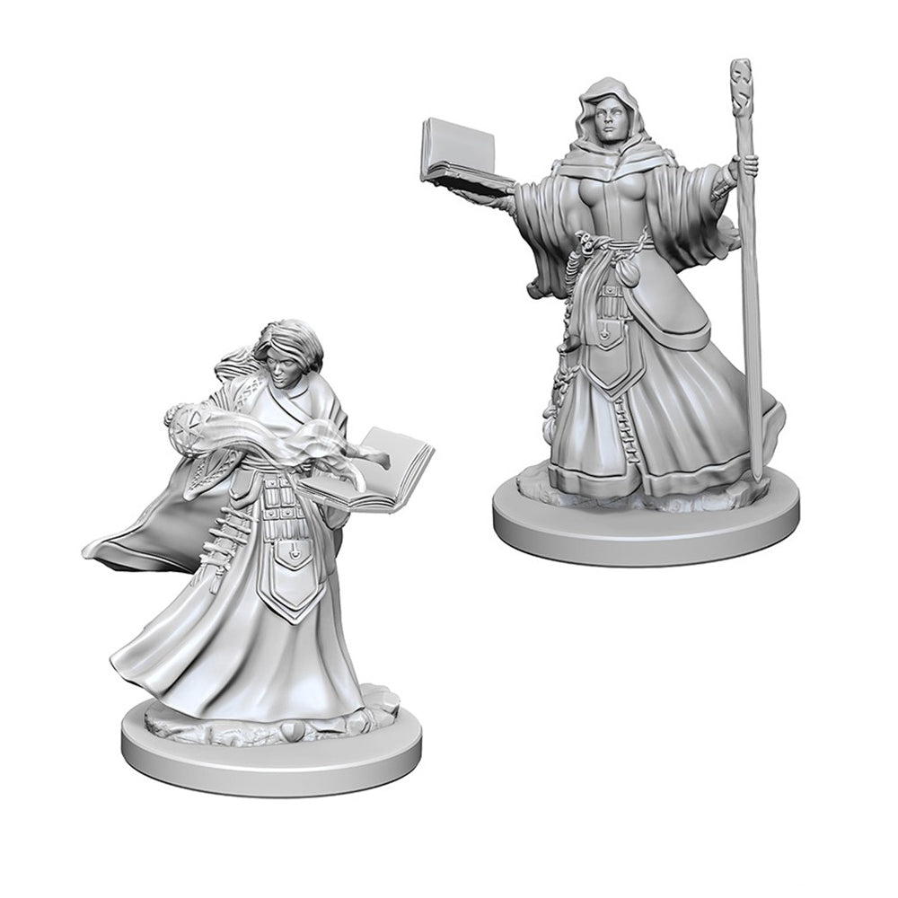 D&D Minis - Human Female Wizard - Imaginary Adventures