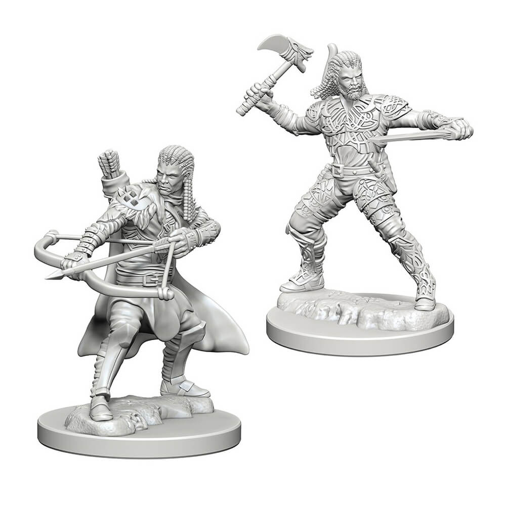 D&D Minis - Human Male Ranger - Imaginary Adventures