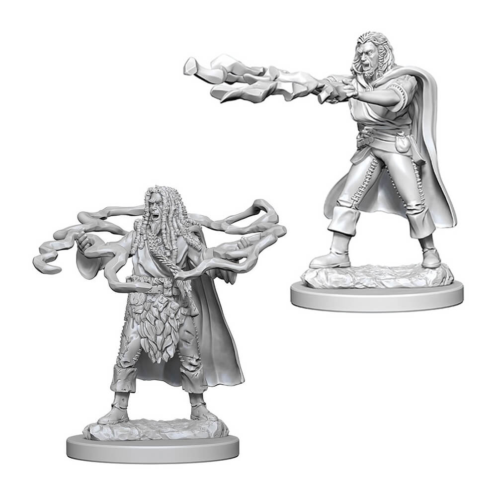 D&D Minis - Human Male Sorcerer - Imaginary Adventures