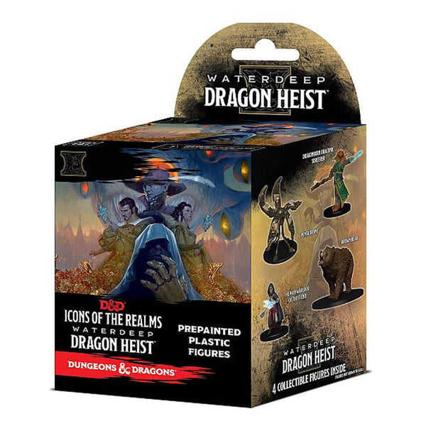 D&D Icons of the Realms Waterdeep Dragon Heist Booster - Imaginary Adventures