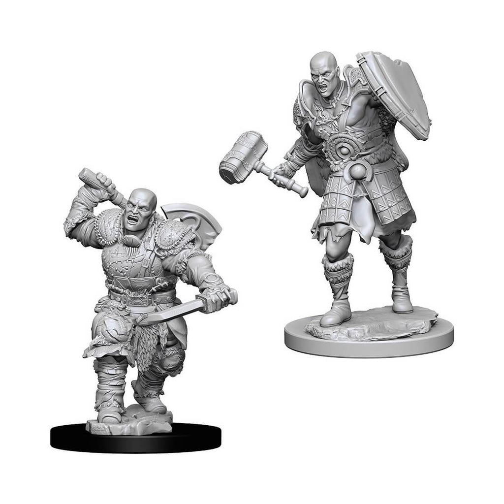 D&D Minis - Goliath Male Fighter - Imaginary Adventures