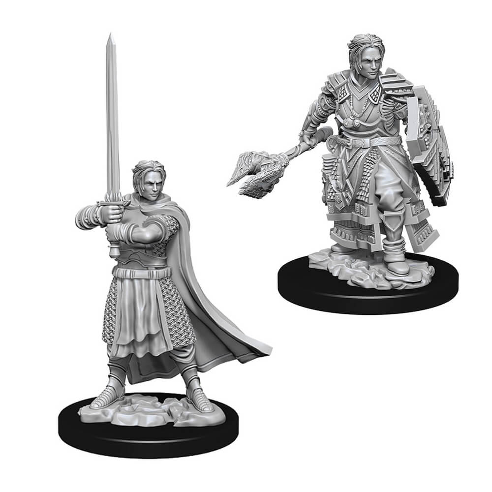 D&D Minis - Human Male Cleric - Imaginary Adventures