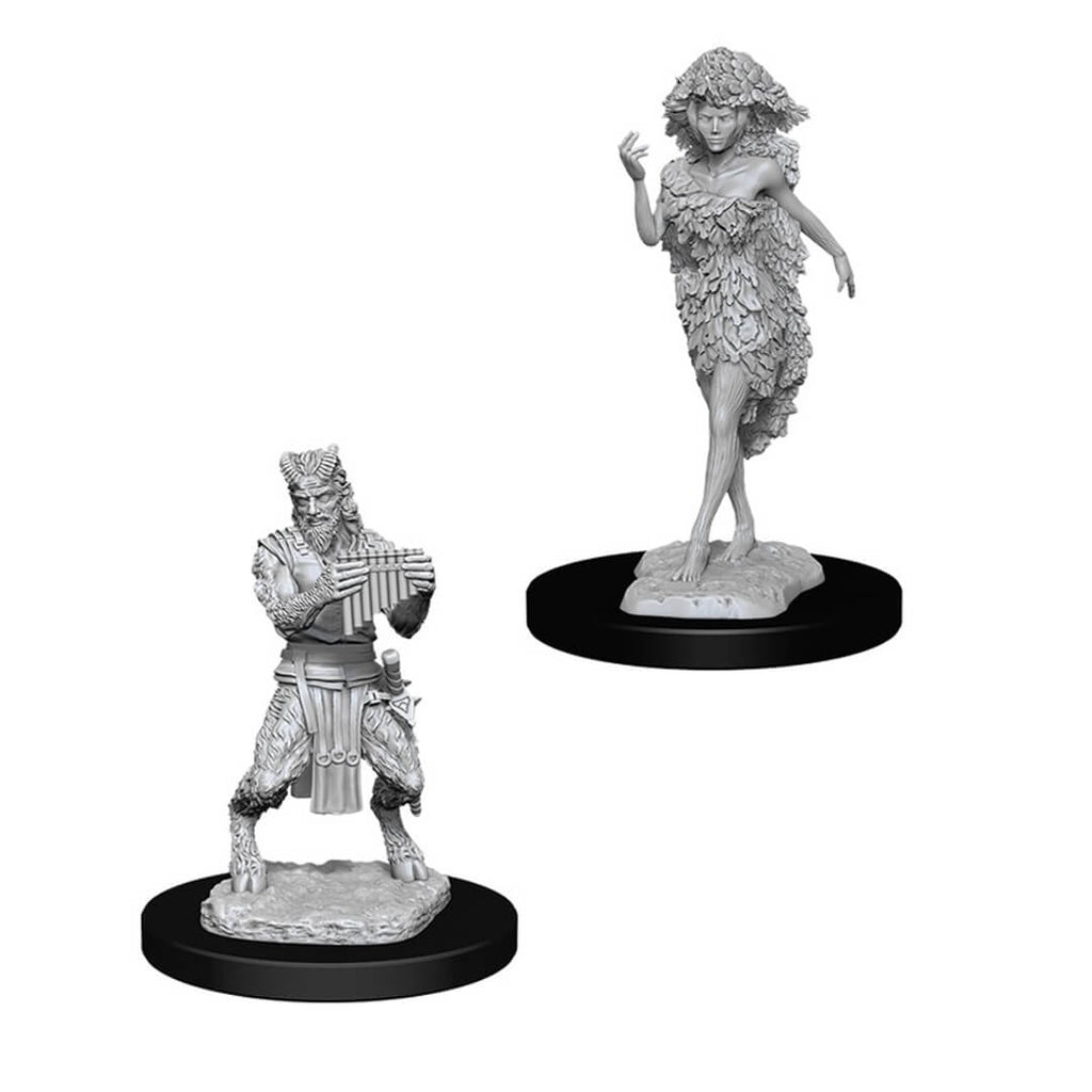 D&D Minis - Satyr & Dryad - Imaginary Adventures
