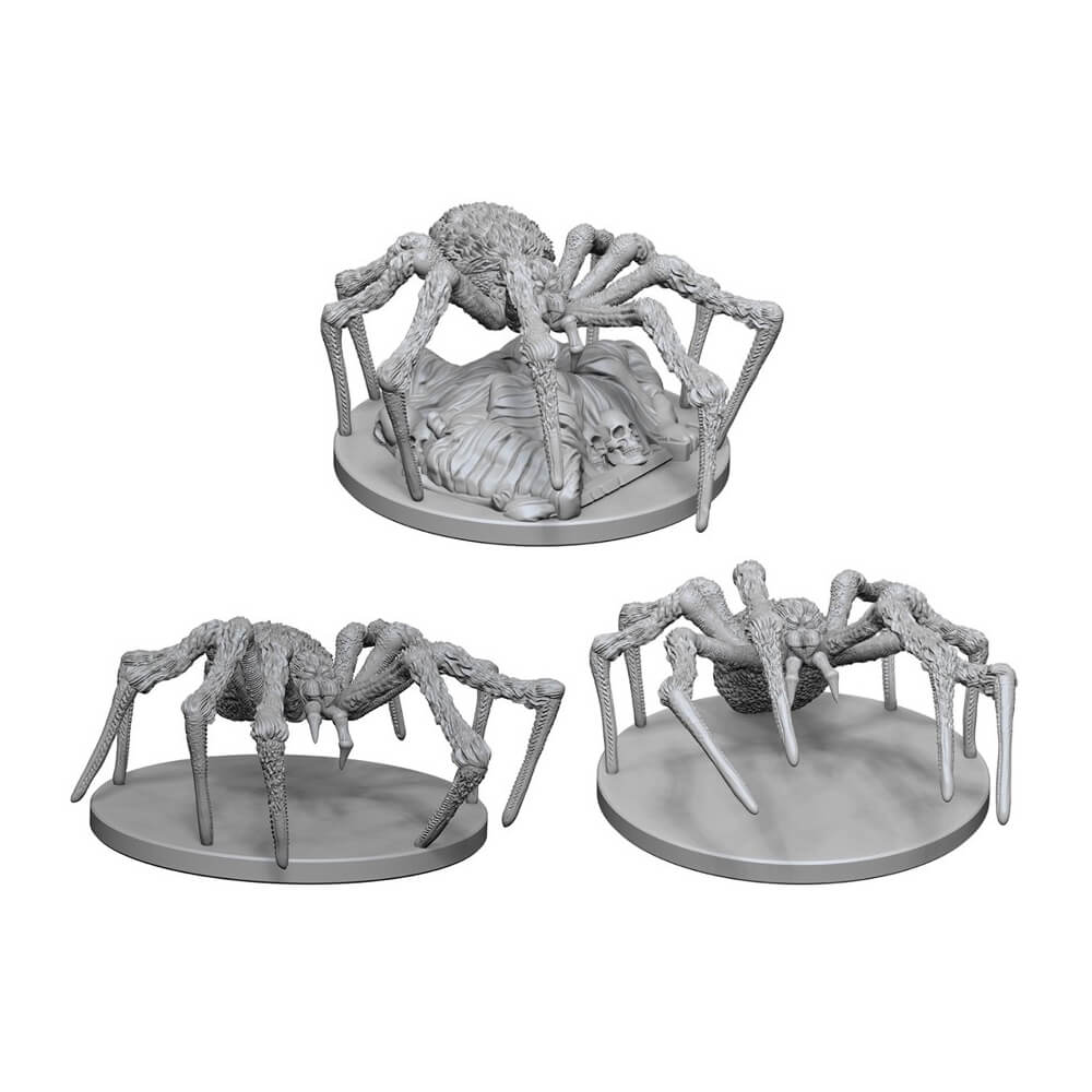 D&D Minis - Spiders - Imaginary Adventures