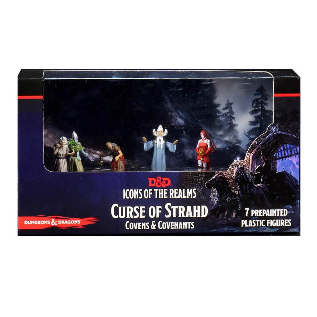 D&D Minis - Curse of Strahd - Covens & Covenants