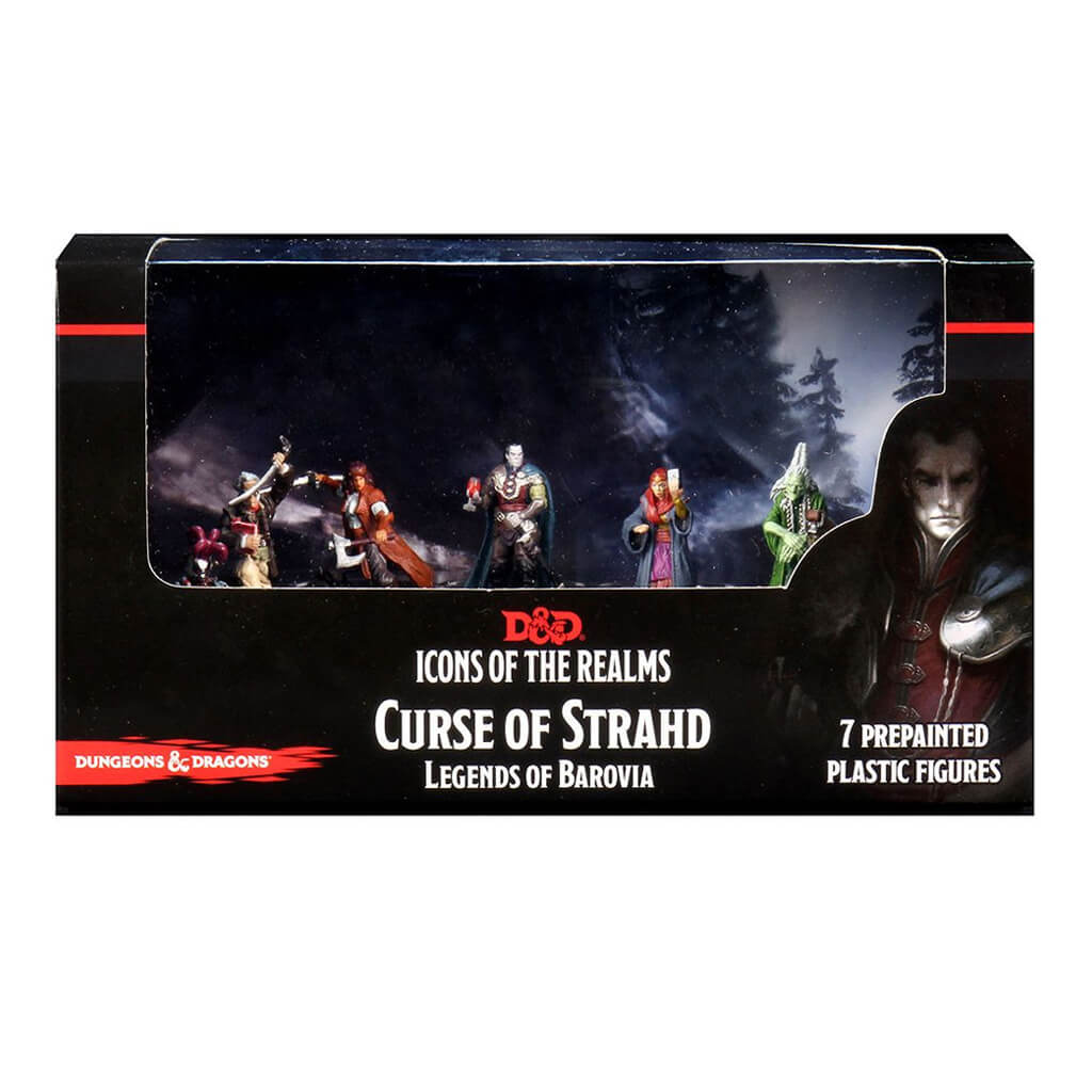 D&D Minis - Curse of Strahd - Legends of Borovia