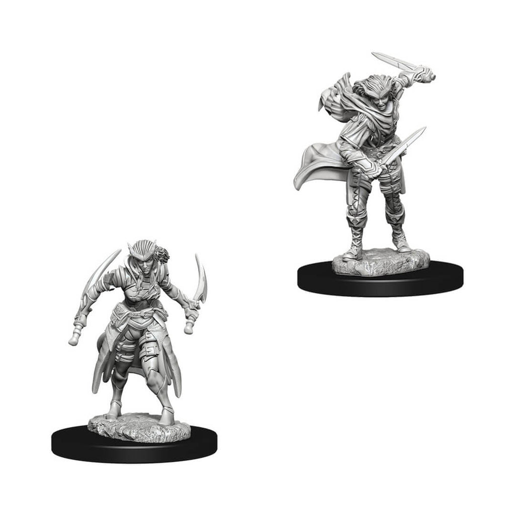 D&D Minis - Tiefling Female Rogue - Imaginary Adventures