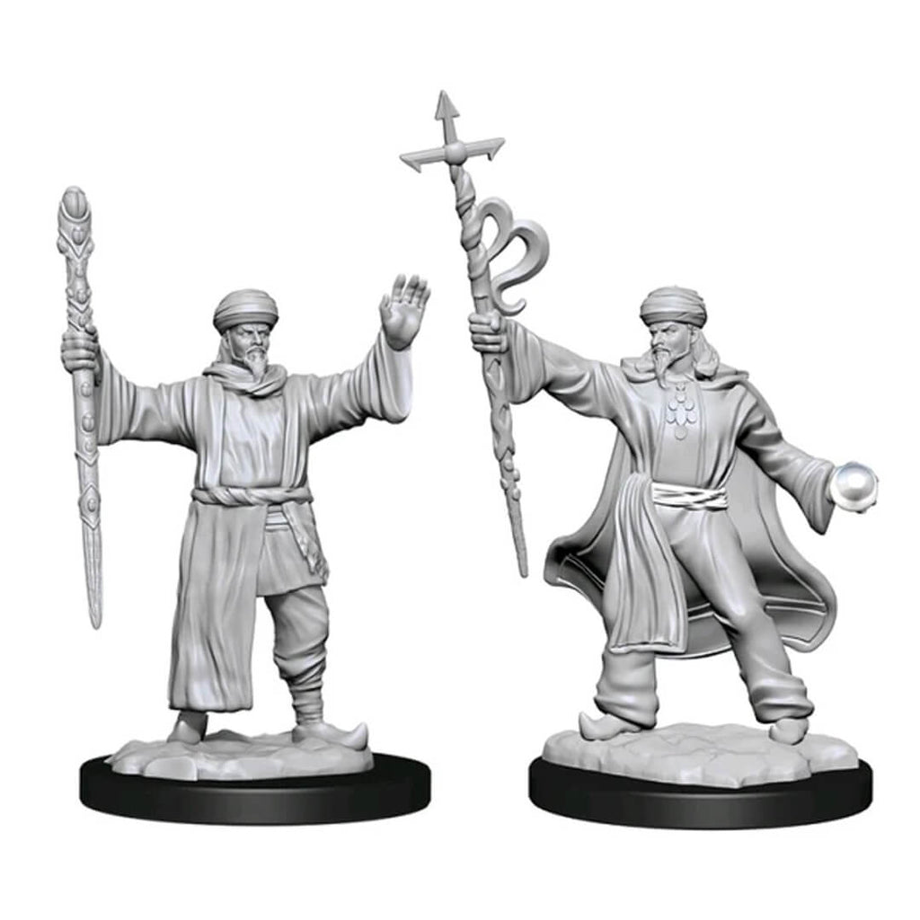 D&D Minis - Human Male Wizard