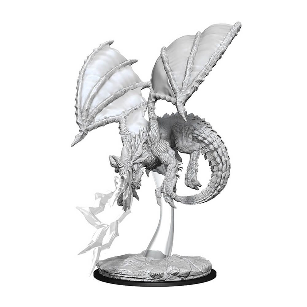 Nolzur's Marvelous Unpainted Minis - Young Blue Dragon