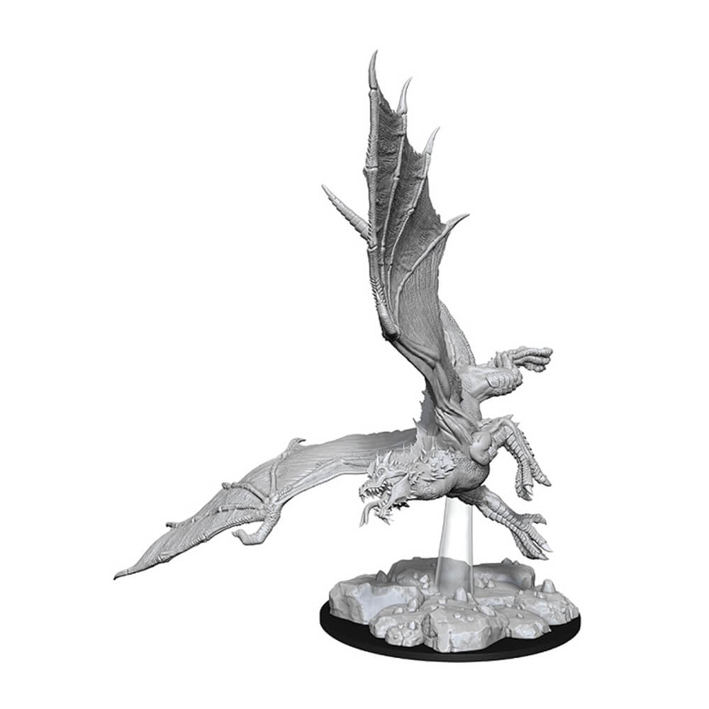 Nolzur's Marvelous Unpainted Minis - Young Green Dragon