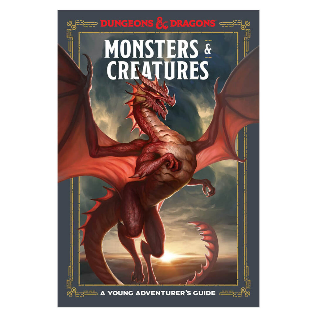 Dungeons & Dragons Monsters & Creatures: A Young Adventurer's Guide - Imaginary Adventures