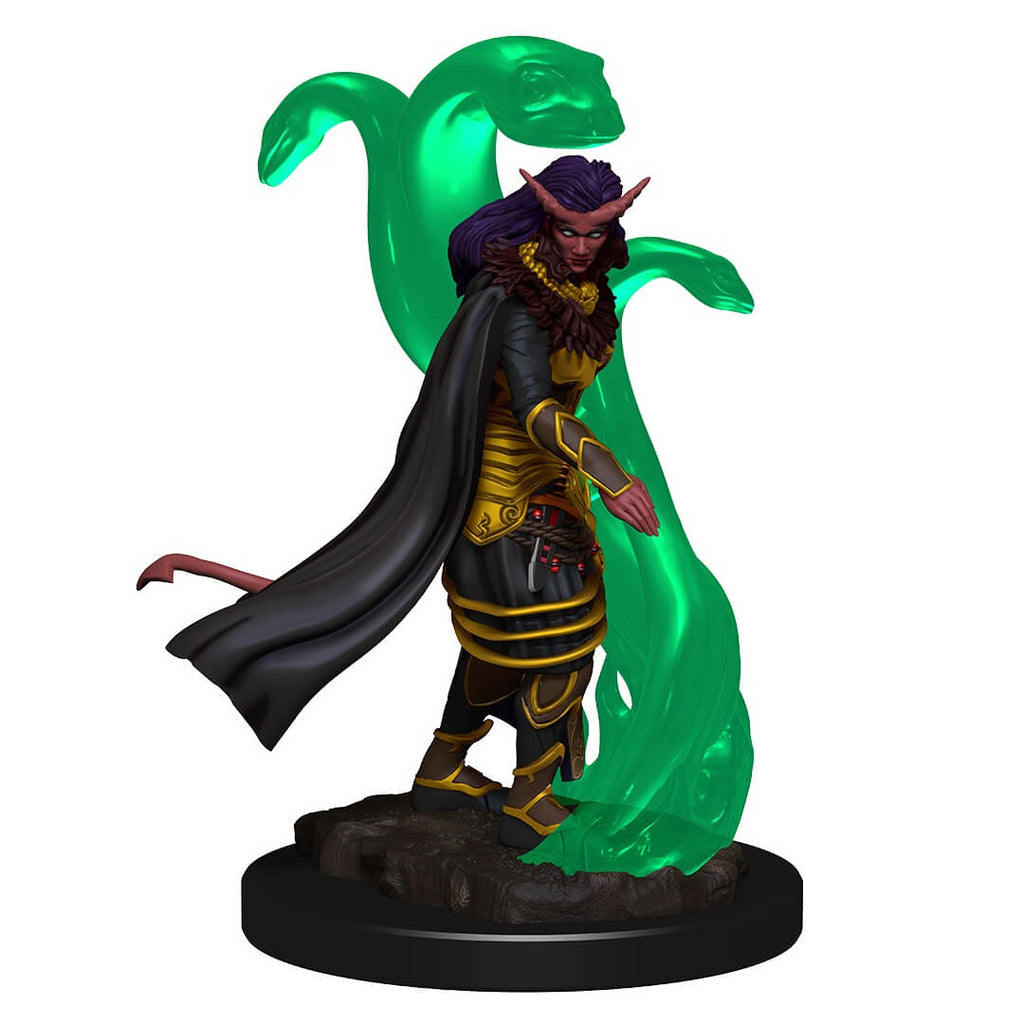 D&D Premium Minis - Tiefling Female Sorcerer - Imaginary Adventures