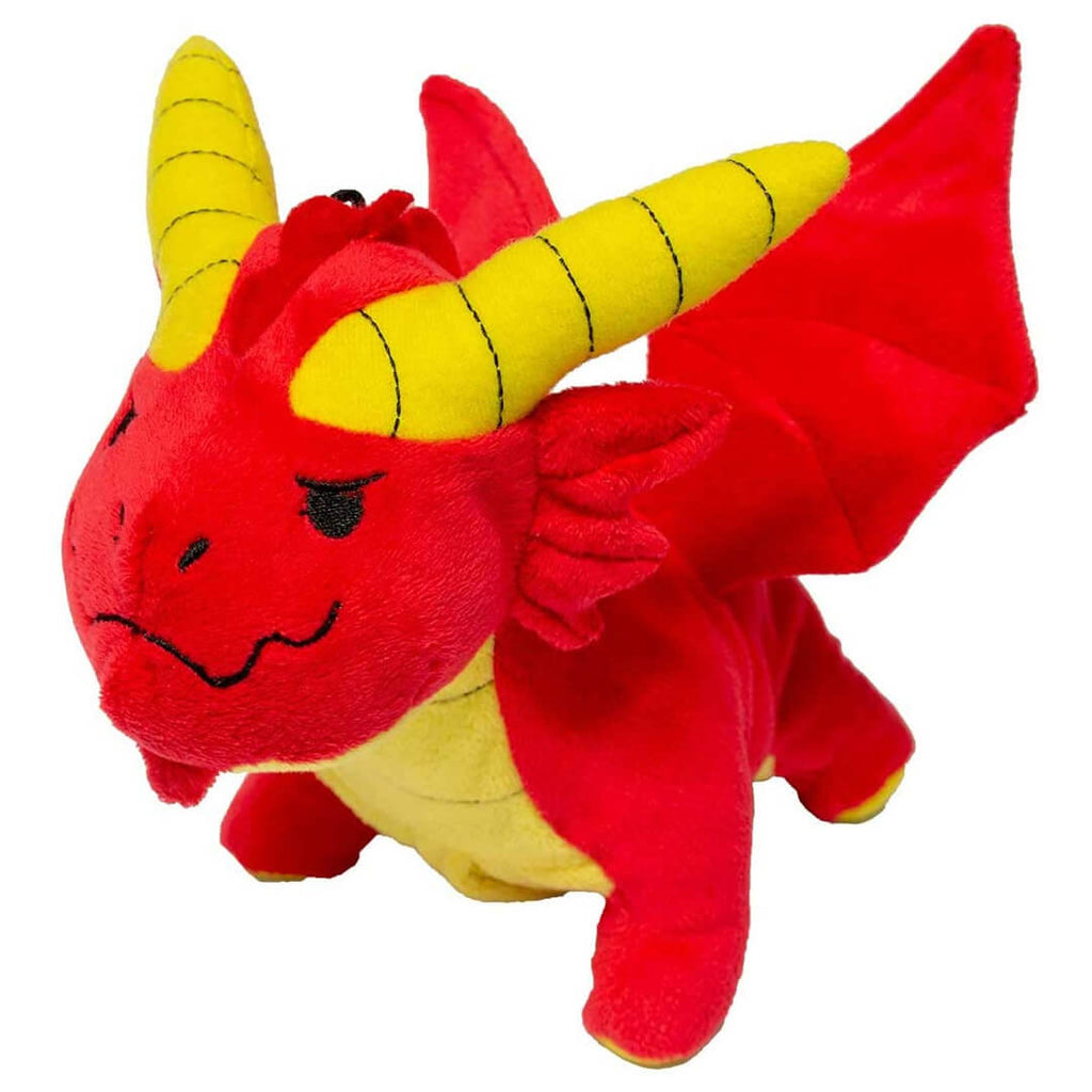D&D Red Dragon Plush Dice Pouch - Imaginary Adventures