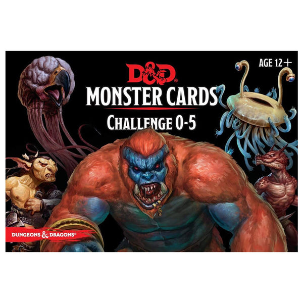 D&D Spellbook Cards Monster Deck Challenge 0-5 - Imaginary Adventures