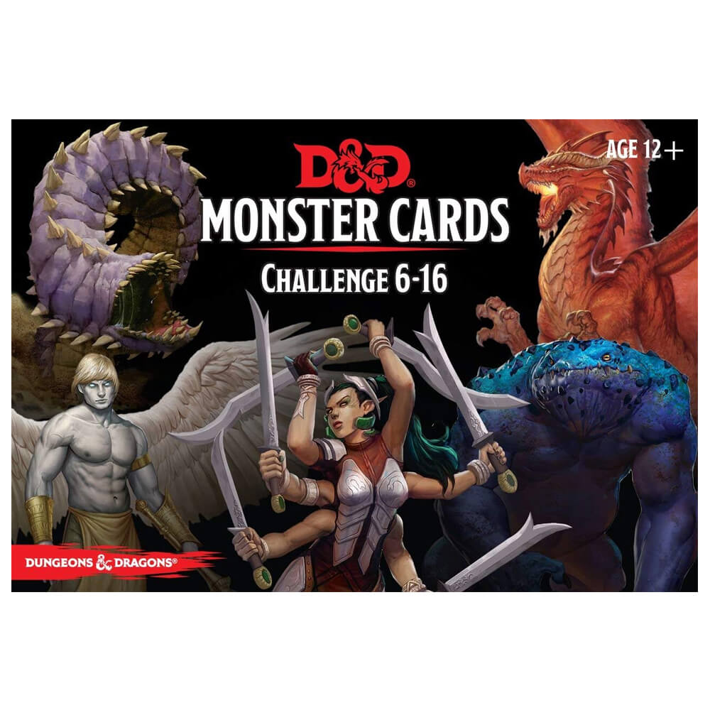 D&D Monster Cards Challenge 6-16 - Imaginary Adventures