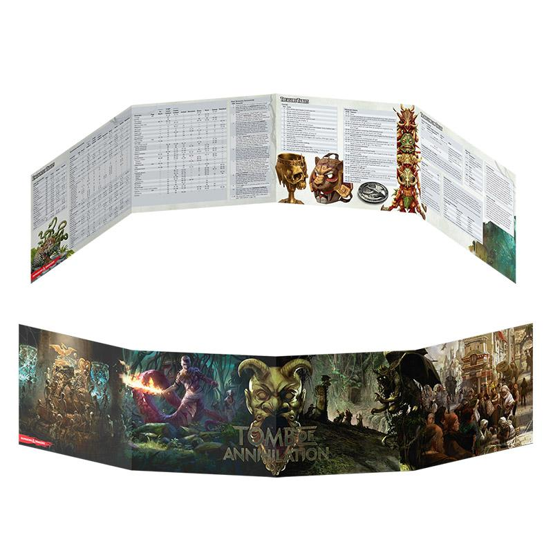 D&D Tomb of Annihilation DM Screen - Imaginary Adventures