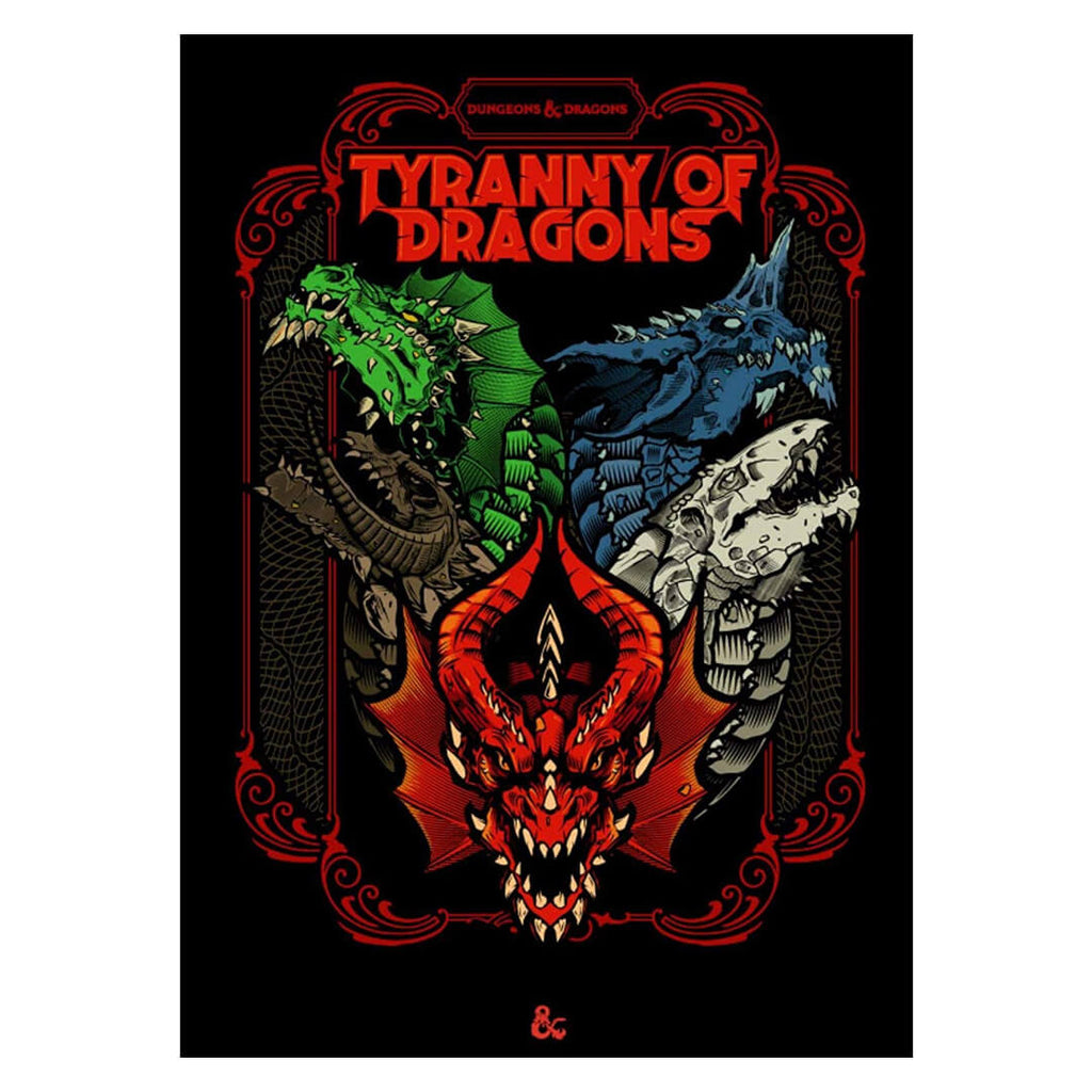 D&D Tyranny of Dragons Alternate Cover - Imaginary Adventures