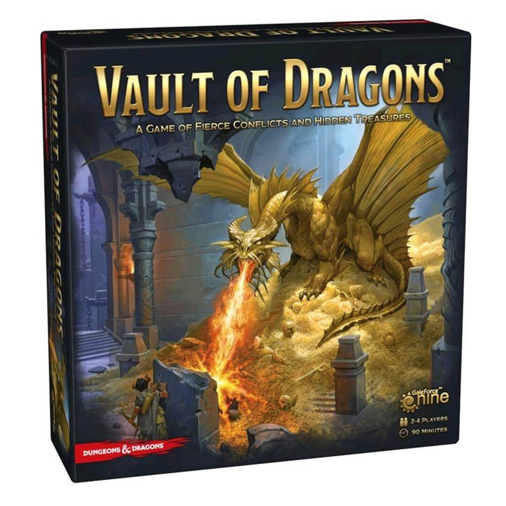 D&D Vault of Dragons Boardgame - Imaginary Adventures