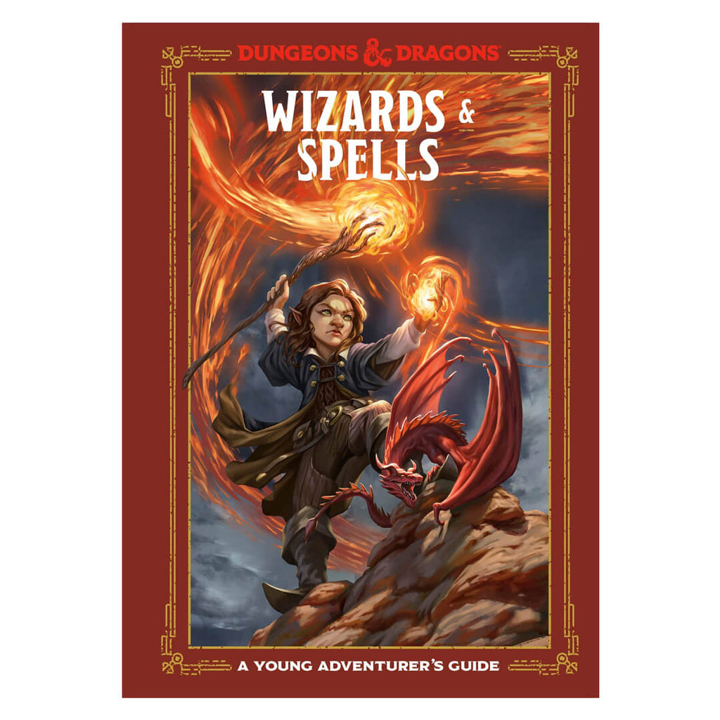 D&D Wizards & Spells: A Young Adventurer's Guide - Imaginary Adventures