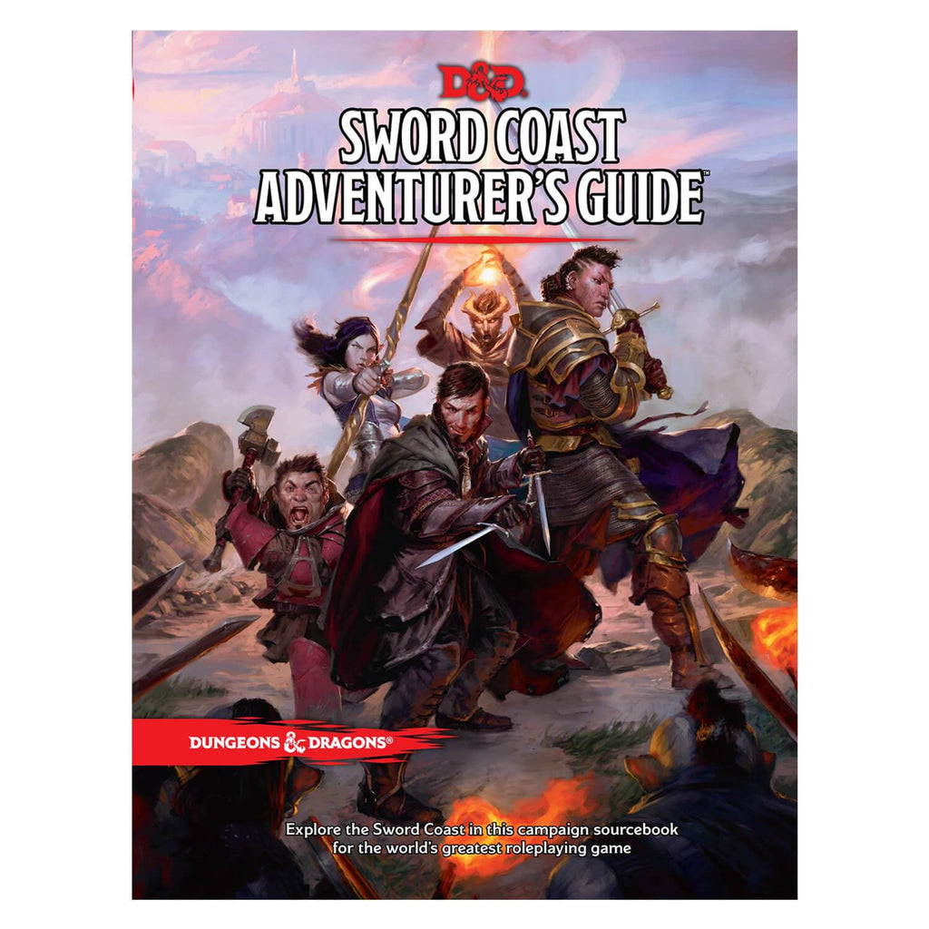 Dungeons & Dragons Sword Coast Adventurer's Guide - Imaginary Adventures