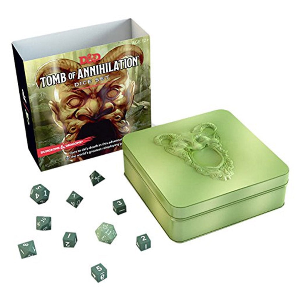 Dungeons & Dragons Tomb of Annihilation Dice Set - Imaginary Adventures