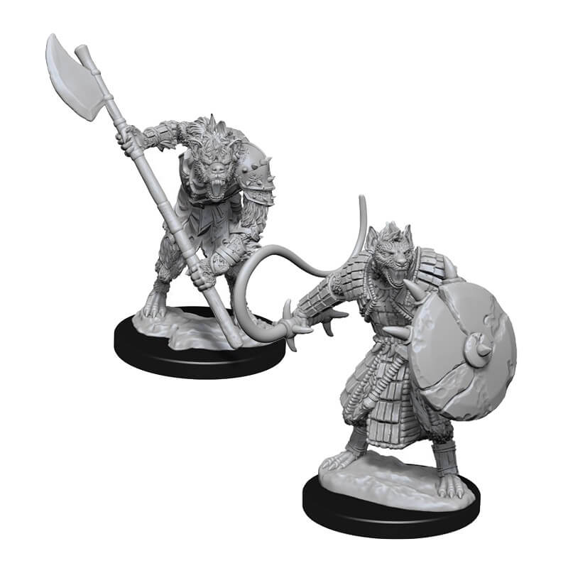 Pathfinder: Deep Cuts Unpainted Miniatures: Gnolls - Imaginary Adventures