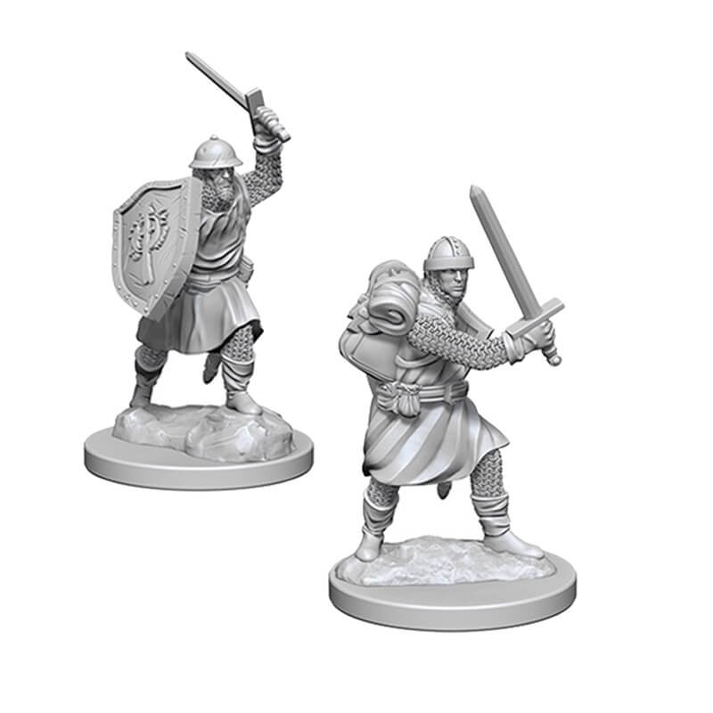 Pathfinder: Deep Cuts Unpainted Miniatures: Infantrymen - Imaginary Adventures