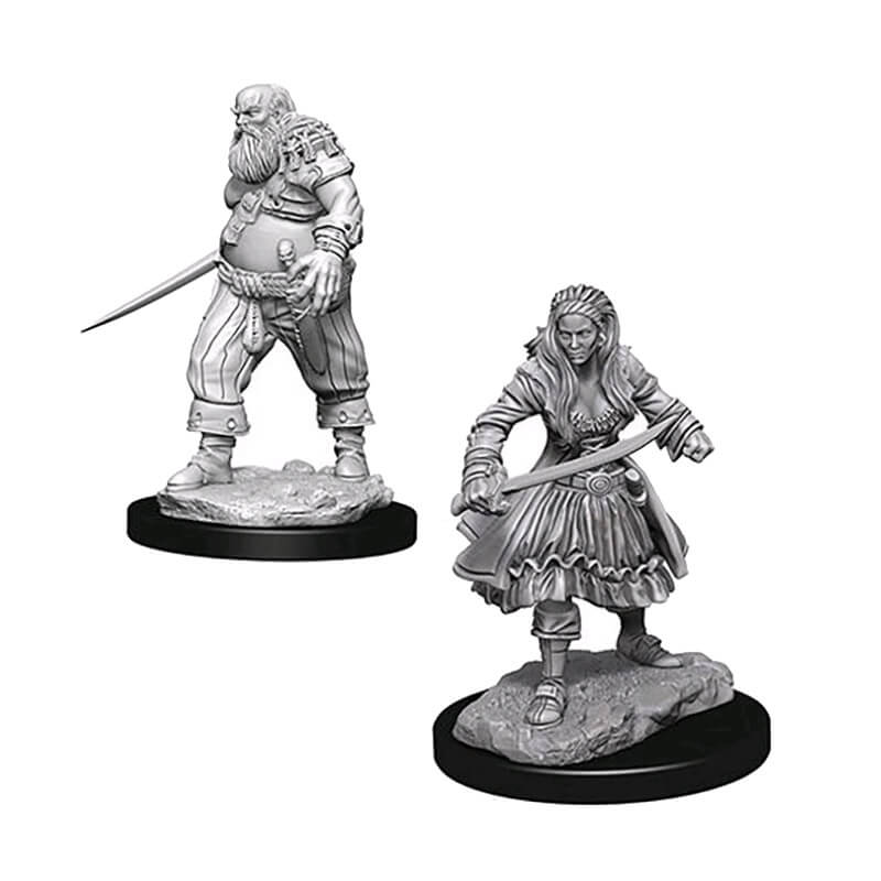 WizKids Minis - Pirates - Imaginary Adventures