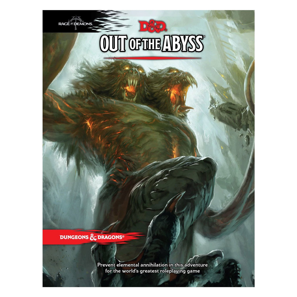 D&D Out Of The Abyss - Imaginary Adventures