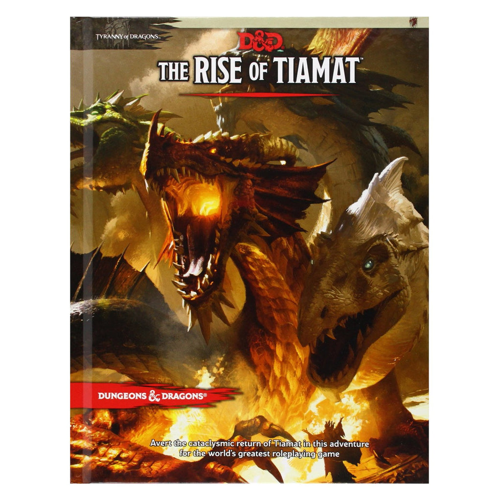 D&D The Rise Of Tiamat - Imaginary Adventures