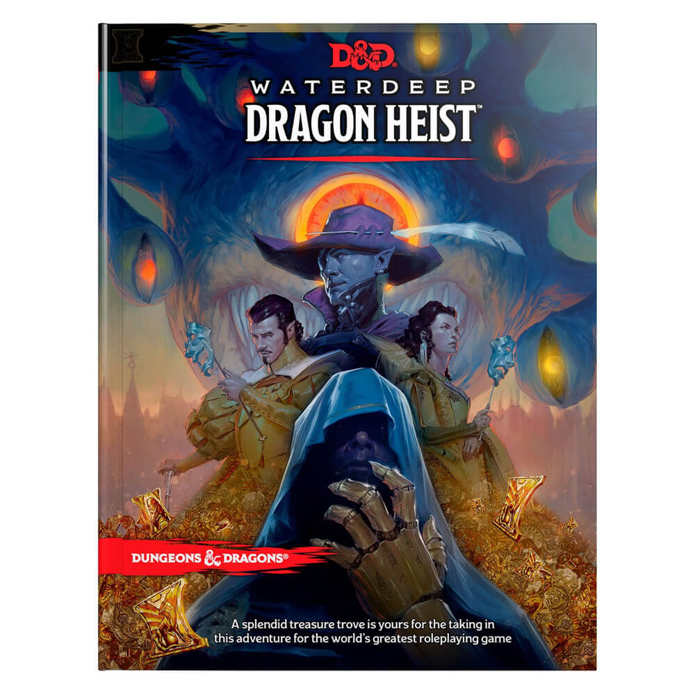 Dungeons & Dragons Waterdeep Dragon Heist - Imaginary Adventures