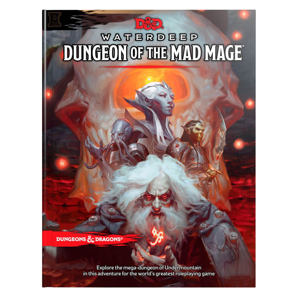 Dungeons & Dragons Waterdeep Dungeon of the Mad Mage - Imaginary Adventures