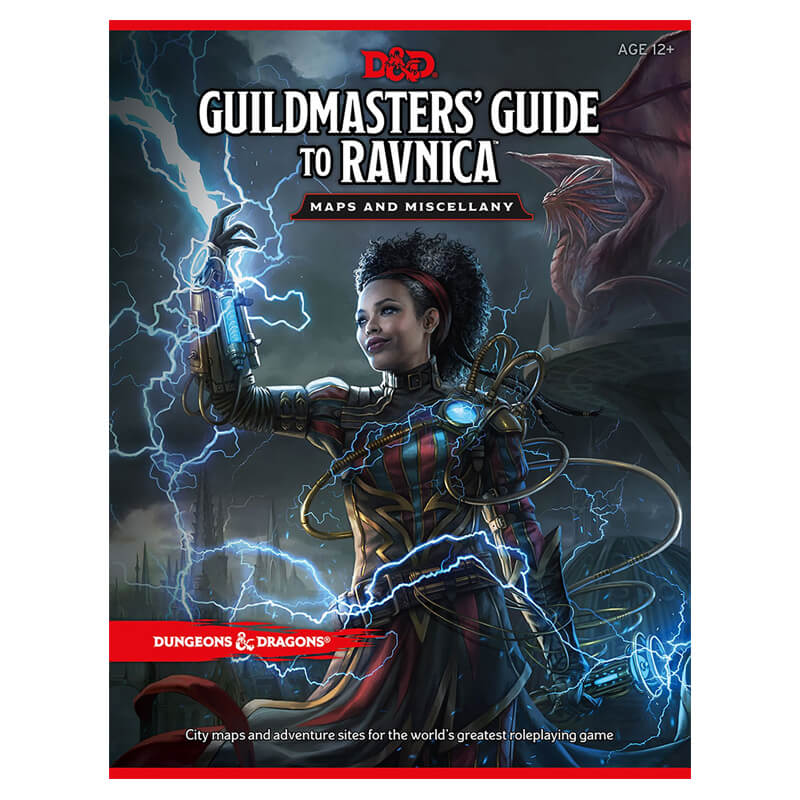 Dungeons & Dragons Guildmaster's Guide To Ravnica Maps and Miscellany - Imaginary Adventures