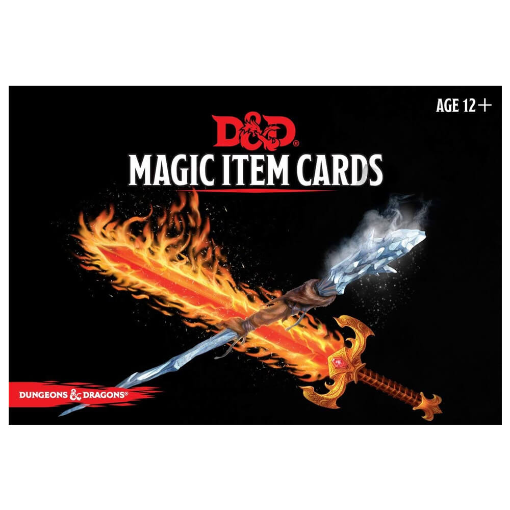 Dungeons & Dragons Spellbook Cards Magic Item Deck - Imaginary Adventures