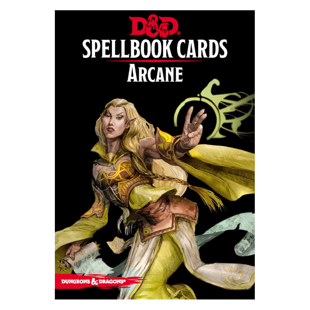 Dungeons & Dragons Spellbook Cards Arcane Deck - Imaginary Adventures