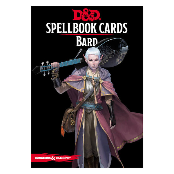 D&D Spellbook Cards Bard Deck - Imaginary Adventures