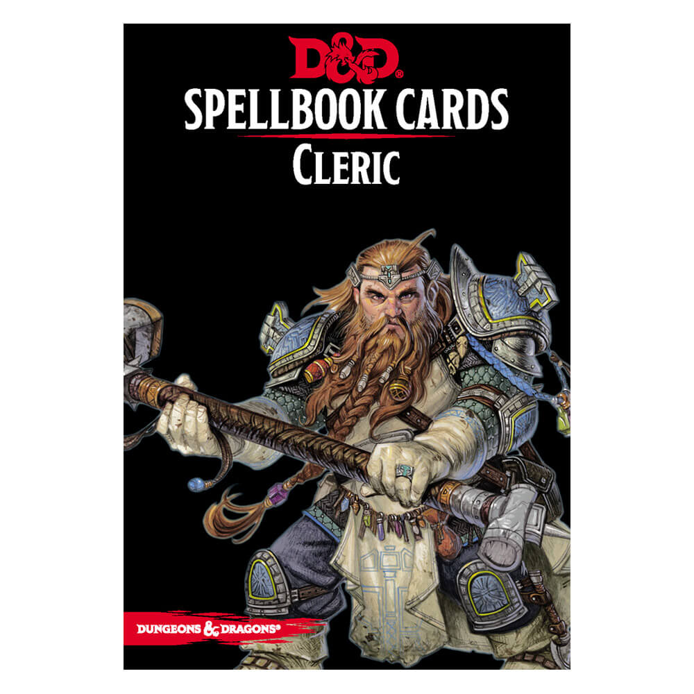 D&D Spellbook Cards Cleric Deck - Imaginary Adventures