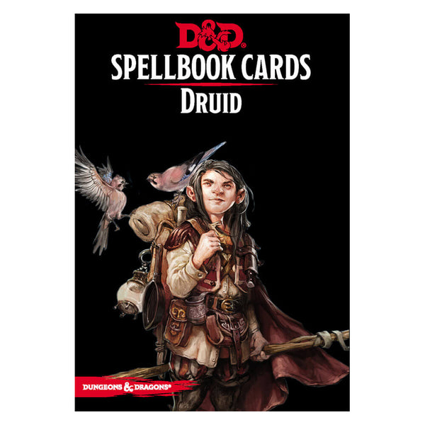 D&D Spellbook Cards Druid Deck - Imaginary Adventures