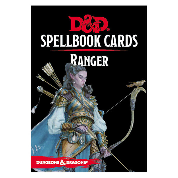 D&D Spellbook Cards Ranger Deck - Imaginary Adventures