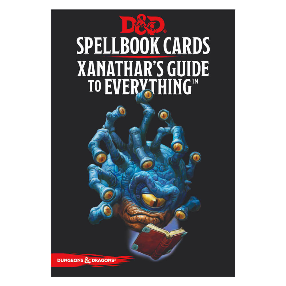 D&D Spellbook Cards Xanathars Guide to Everything Deck - Imaginary Adventures